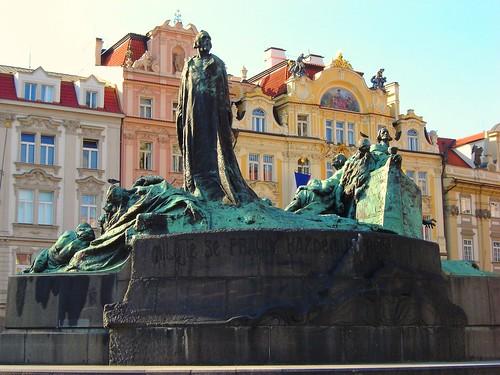 Memorial to Master Jan Hus