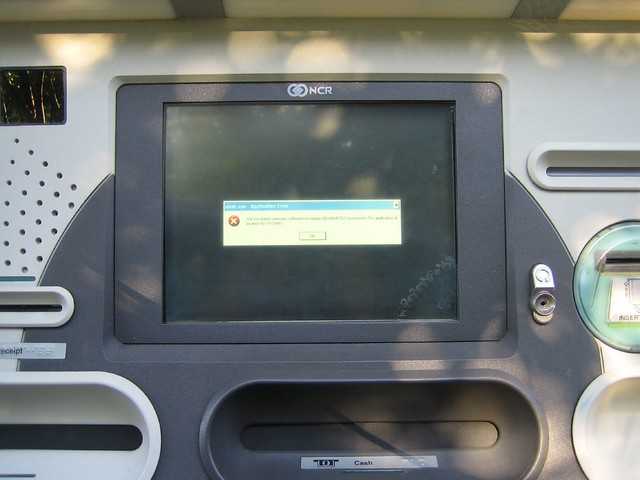 ATM Crashing & Rebooting