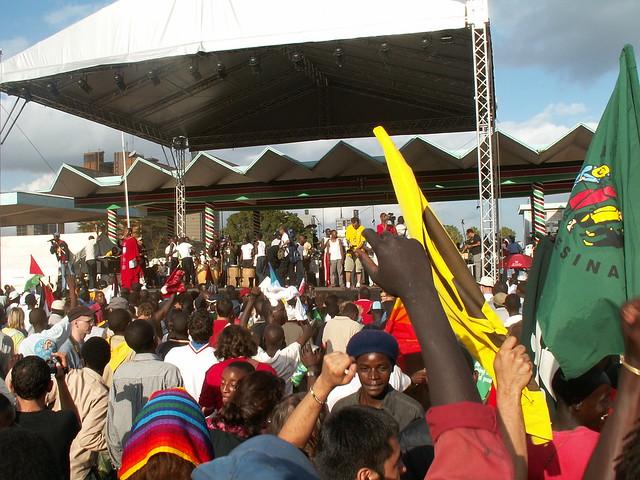 WSF2007 Opening @ Uhuru Park, Nairobi