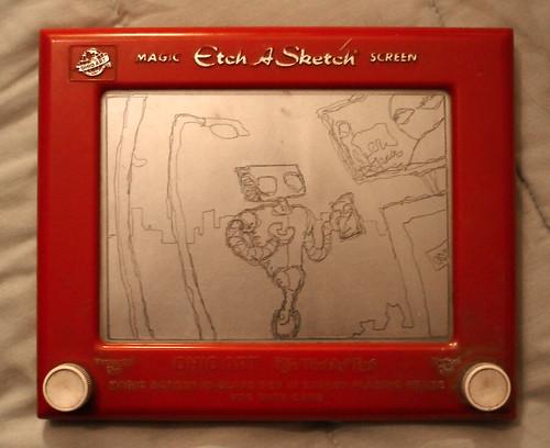 Etch-A-Robot