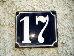 number, house numbering, font, iron,