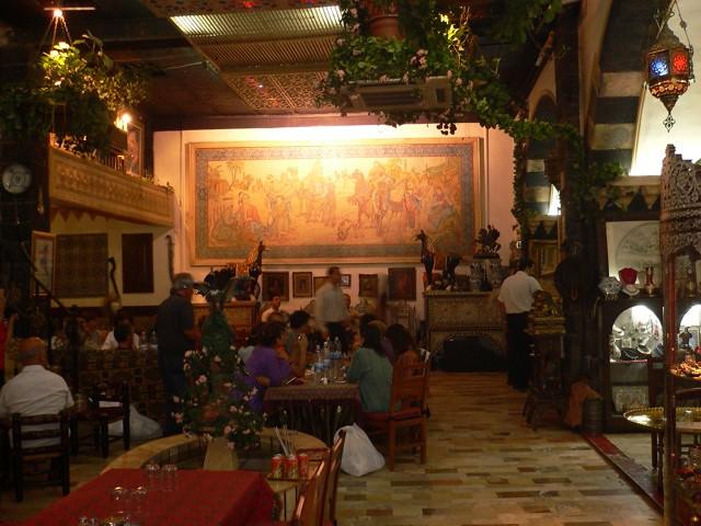ダマスカス(旧市街)のレストラン
