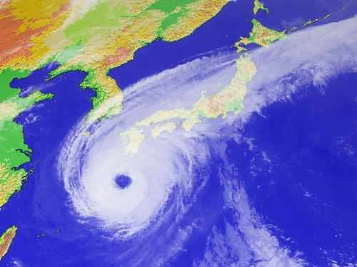 "Typhoon ""Nabi"" - 4PM 09/05/2005 JST"