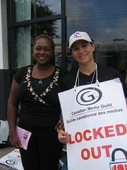 CBC strike/lockout
