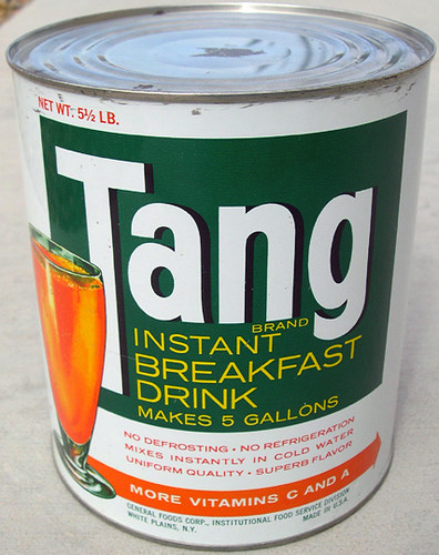 Tang Drink Mix Can, 1960's - a photo on Flickriver