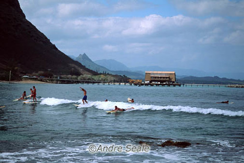 Surf em Makapuu, East shore