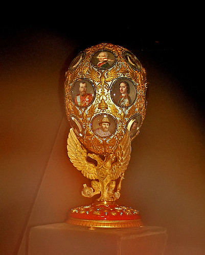 Treasures - Faberge egg
