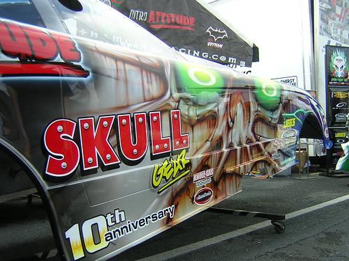 Skull Gear Funny Car