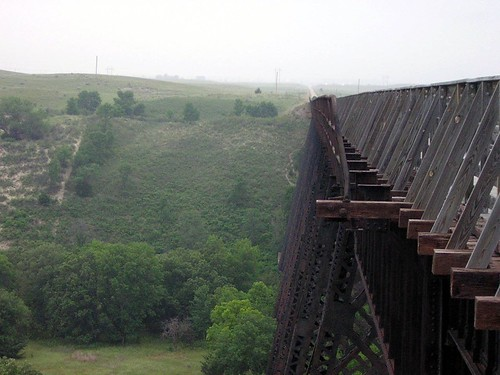 trestle looking down