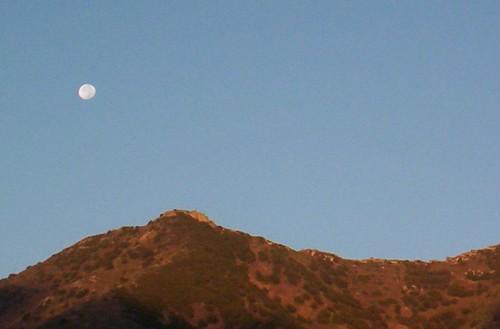 sky españa moon sunrise geotagged spain tenerife teno canaryislands islascanarias geo:lat=28334524 geo:lon=16849152