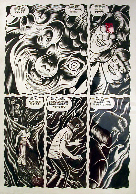 """Charles Burns """"Black Hole"""" - a photo on Flickriver"""