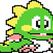 Bubble Bobble Green Dragon