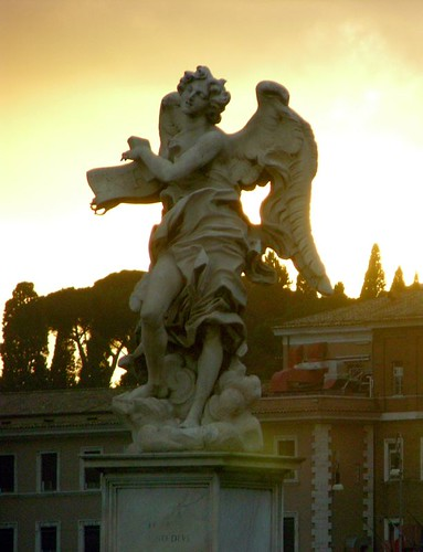 Statue on the Ponte Sant'Angelo