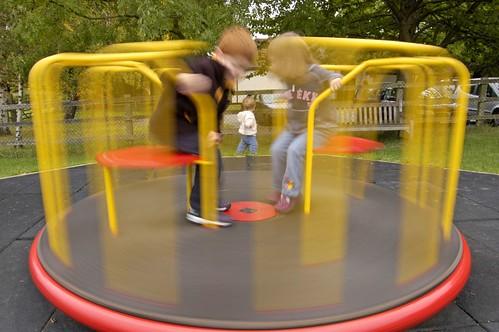 Playground Equipment Roundabout Equipment Roundabout