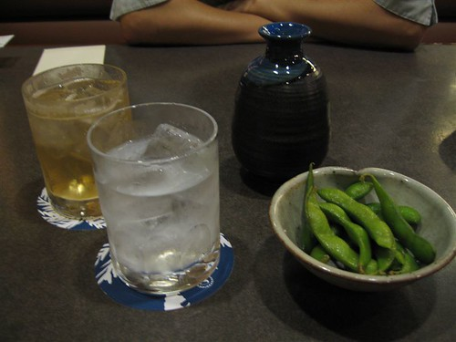 Shouchu, Umeshu and green soybeans