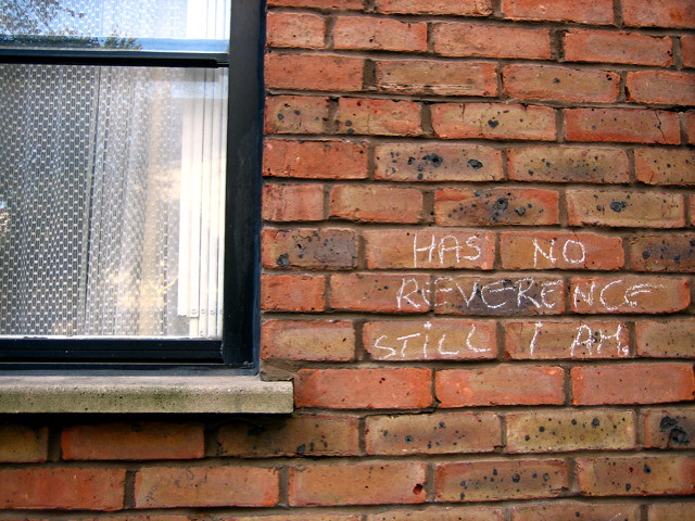 Chalk Graffiti, Notting Hill