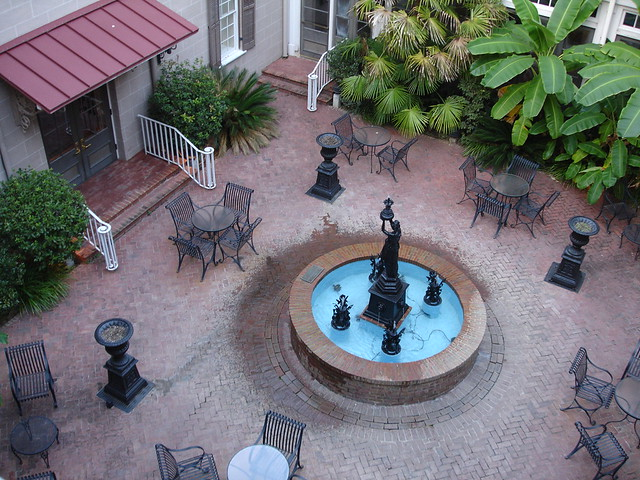 Courtyard at St. James Hotel, Selma AL