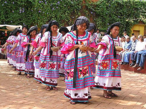 Guelaguetza Dancers, October 2005