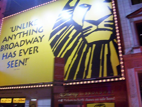 Broadway - The Lion King