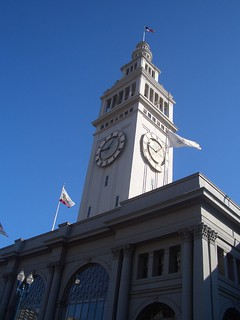 1- The famous SF Pier Clock