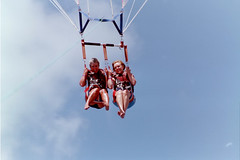 parachute, air sports, sports, parasailing, windsports, extreme sport,
