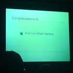 Congratulations iPod click wheel interface