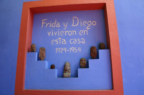 Frida y Diego lived here