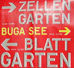 Signs - German