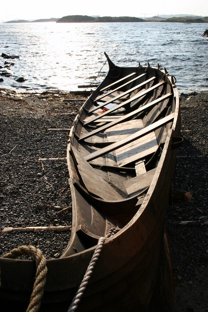 Viking canoe - Norway