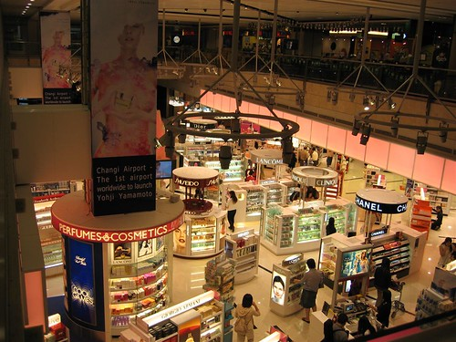 Shops at Singapore Airport