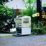 Abandoned... Photocopier?