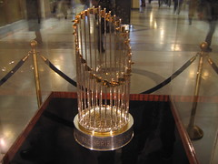 2005 World Series trophy