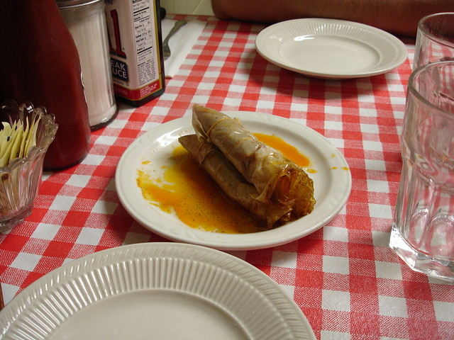 Hot Tamales at Doe's Eat Place, Greenville MS