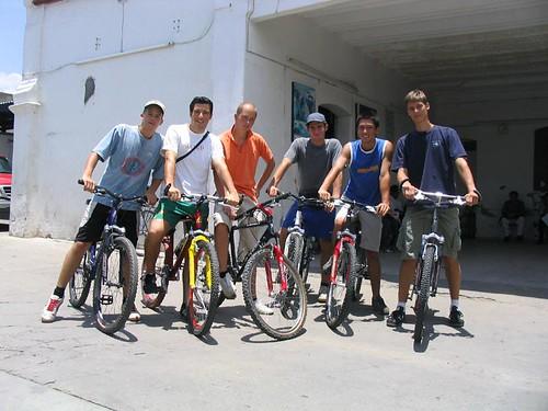 Biking in Oaxaca