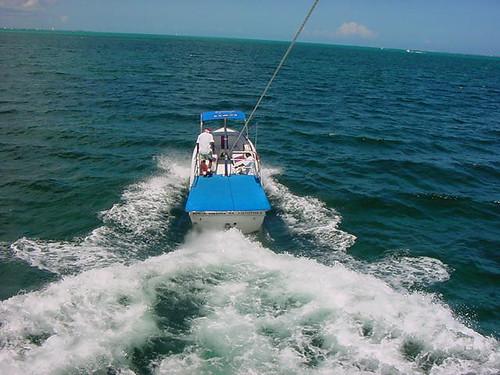 Parasailing, Cancun