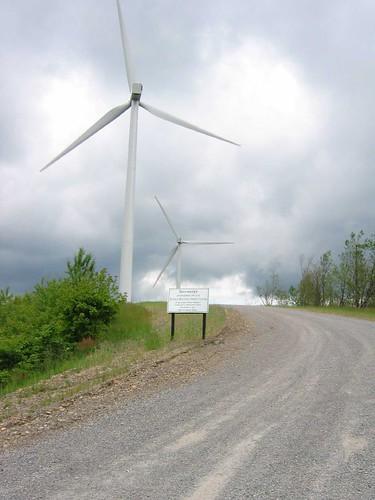 Buffalo Mountain Windfarm / Tennessee