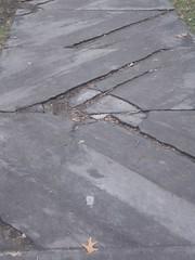 sidewalk, flagstone, concrete, road surface, walkway,