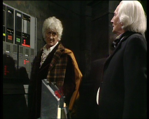 Breaking the fourth wall: Jon Pertwee in Doctor Who: The Five Doctors: Special Edition