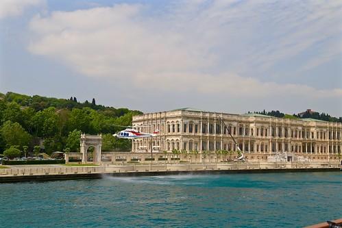 palace on the Bosphorus