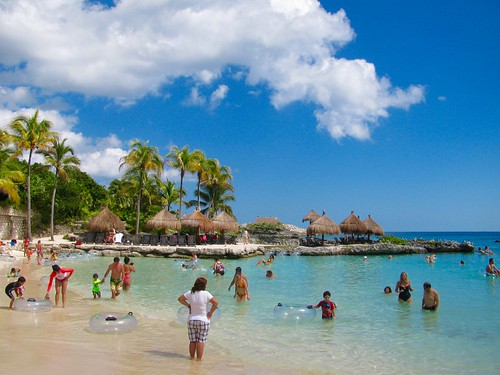 Playa de Xcaret, México