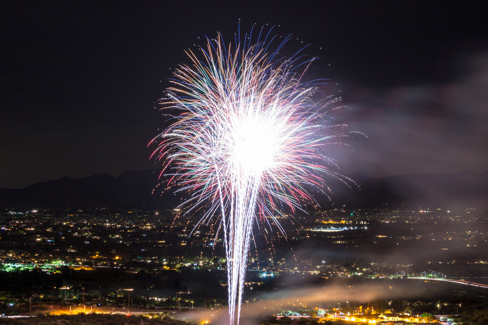 1507 Fireworks Near the Linda Vista Trail 06