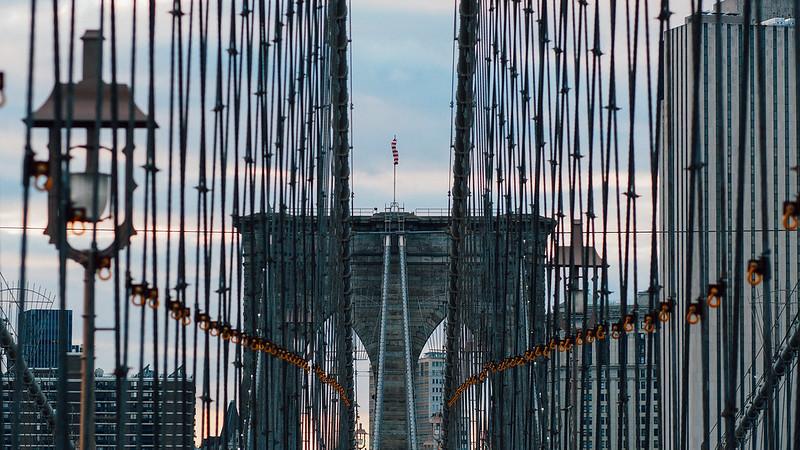 布魯克林橋 Brooklyn Bridge|New York City 紐約 曼哈頓