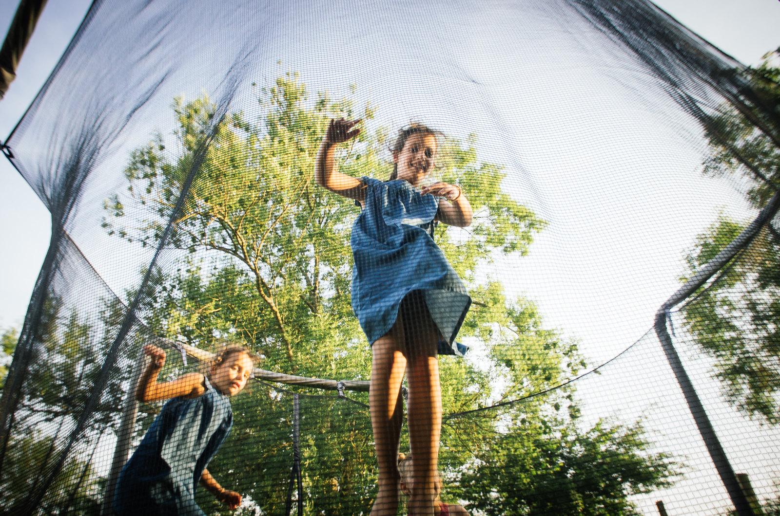 Randonner en Argonne - Balades en âne - Le trampoline
