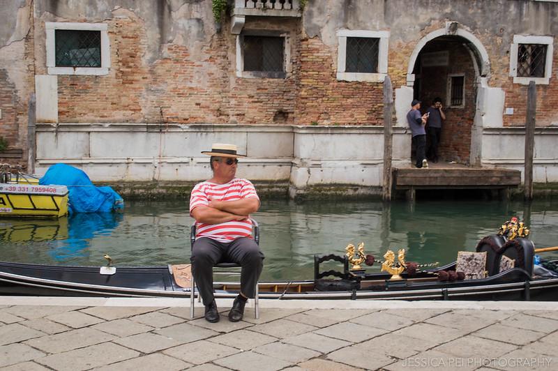 Venice Gondolier