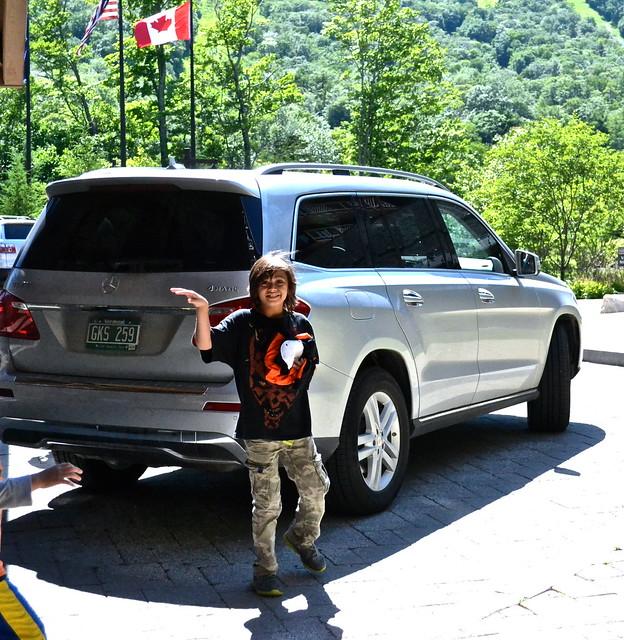 Mercedes Rental - Stowe Mountain Lodge, Vermont