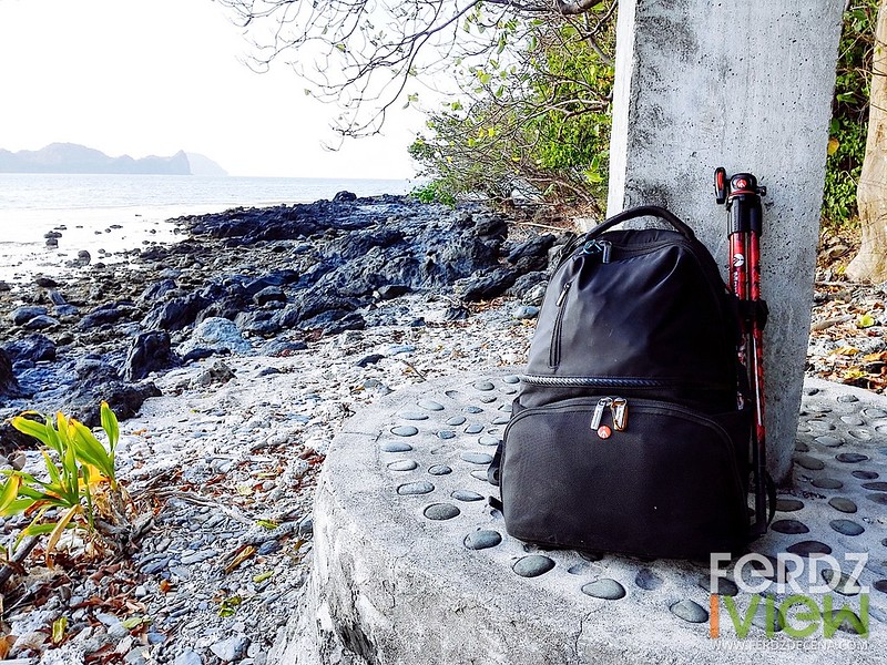 With my Manfrotto Active Backpack I