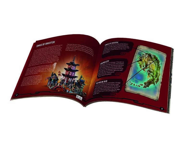 LEGO Ninjago 70751 - Book