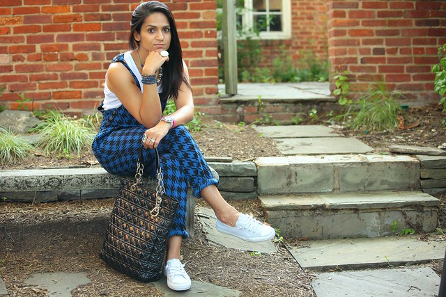 Jumpsuit - Nordstrom, Shoes - Converse, Bag - Dior, Tanvii.com