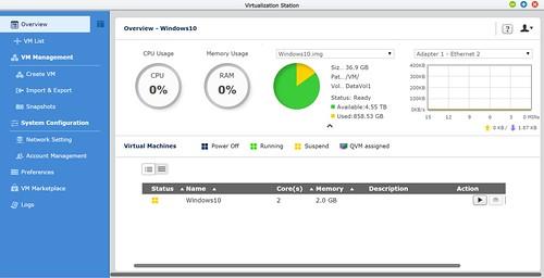 Virtualization ของ QNAP TS-253 Pro