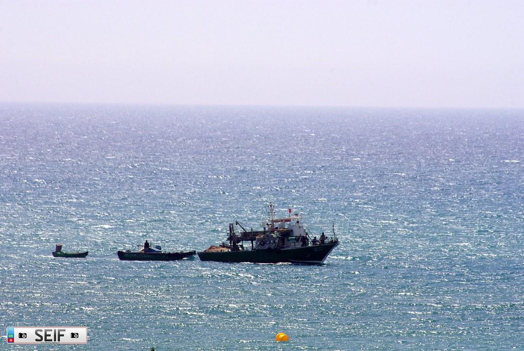 Fishing boat Tunisia 2015